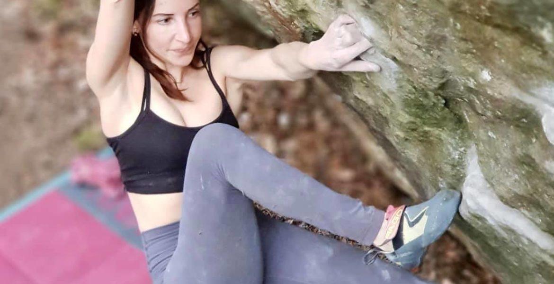 Caroline Sinno s'offre son premier 8B bloc – First 8B boulder by Caroline Sinno