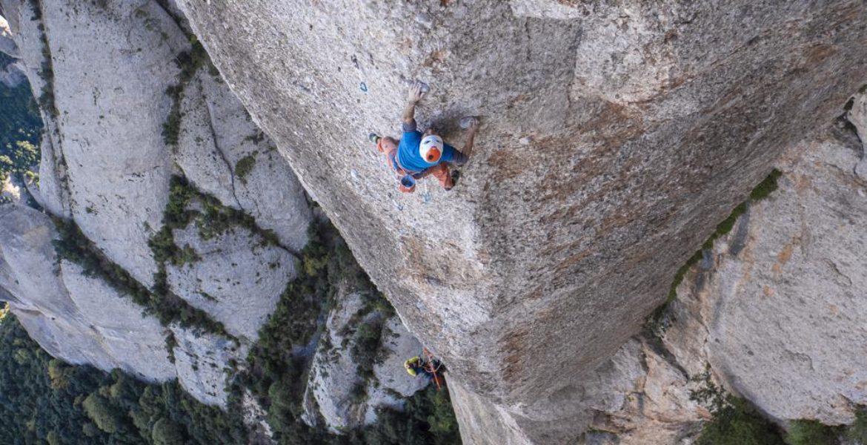 Edu Marin libère Arco Iris, 8c+, 200m à Montserrat – Edu Marin frees Arco Iris 8c+, 200m, Montserrat (+video)