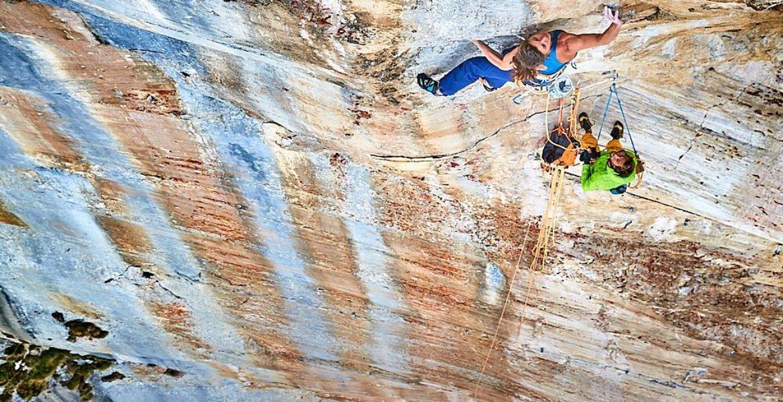 Troisième ascension de Headless children dans le Rätikon par Nina Caprez – Third ascent of Headless children in Rätikon by Nina Caprez
