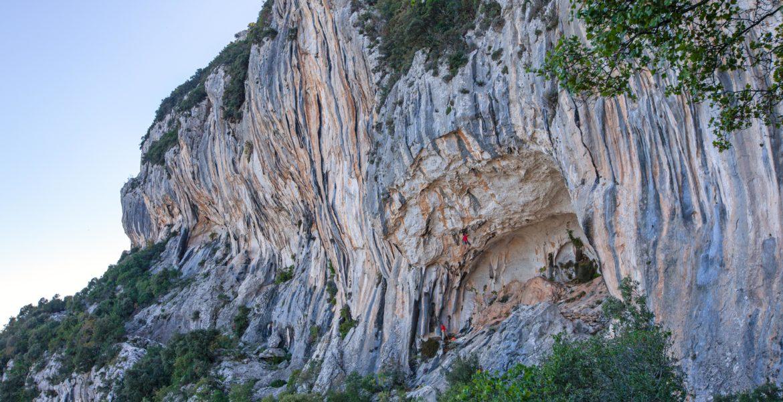 Nouvelles voies à Kyparissi – New routes in Kyparissi