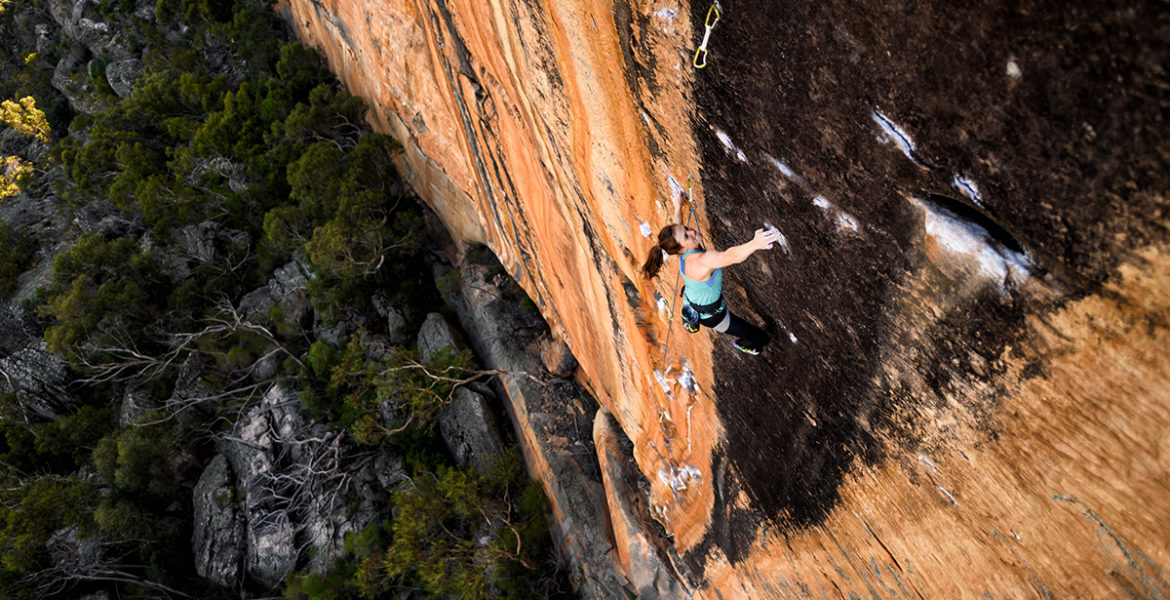 Paige Claassen répète The Groove Train 8c – Paige Claassen repeats The Groove Train 8c