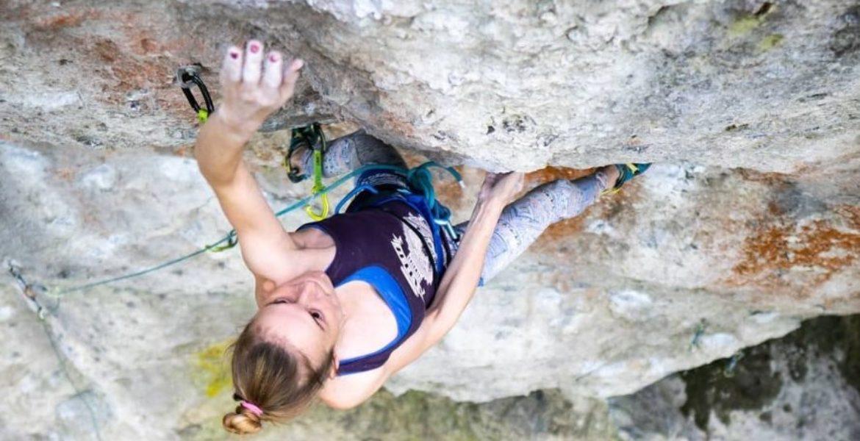 Chiara Hanke réalise le premier 9a féminin allemand ! – Chiara Hanke, first German woman to climb 9a!
