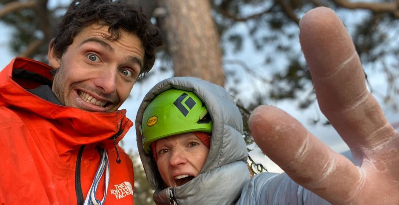 Barbara Zangerl et Jacopo Larcher grimpent le Nose en libre ! – Barbara Zangerl and Jacopo Larcher free climb the Nose!