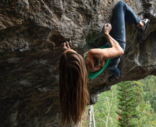 Isabelle Faus en action