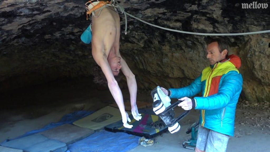 Dave Graham 9b Ali baba cave Rodellar