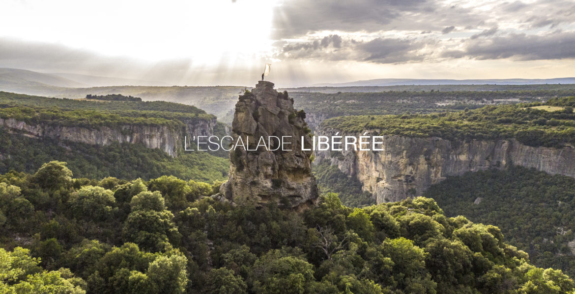 L'escalade libérée - photo de couverture du documentaire
