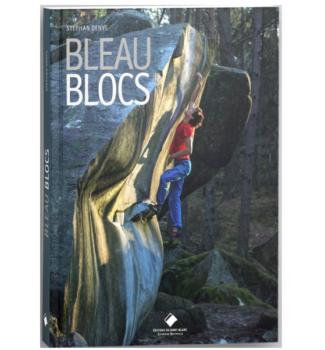 Bleau Blocs, couverture du livra - Nico Pelorson dans Rainbow Rocket