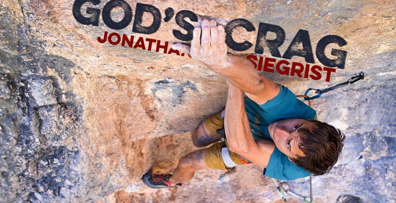 Jonthan Siegrist grimpe à God's Crag