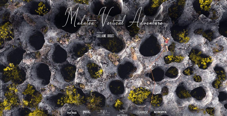 Makatea vue du ciel (drone view)