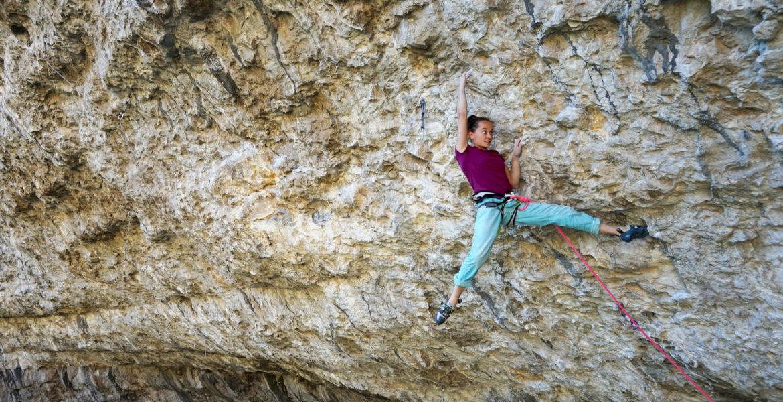 Interview : Nolwen Berthier, la grimpe dans la peau – Interview: Nolwen Berthier, climbing in the blood